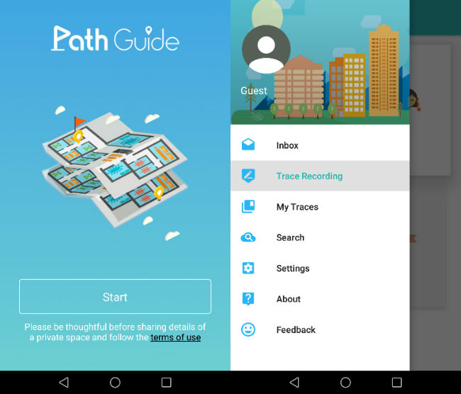 Path Guide App