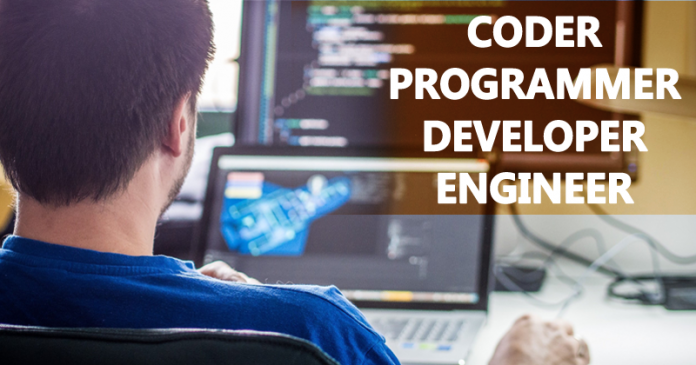 What's The Difference Between a Coder, Programmer, Developer, and Engineer?