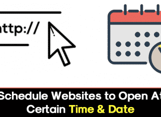How to Schedule Websites to Open at Certain Time & Date