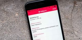 Show Emergency Medical Information on your iPhone