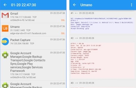 Sniff URLs or Capture Network Packets on Android without Root