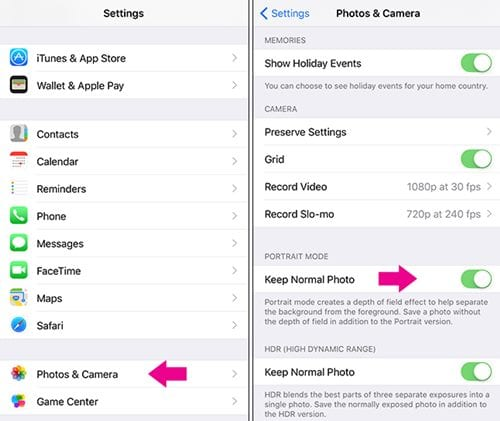 Stop Your iPhone's Portrait Mode From Making Multiple Files