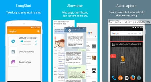 Take Long Scrolling Screenshot on Any Android