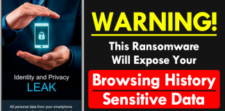 WARNING! This Ransomware Will Expose Your Browsing History & Sensitive Data