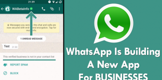 WhatsApp Is Building A New Application For Businesses