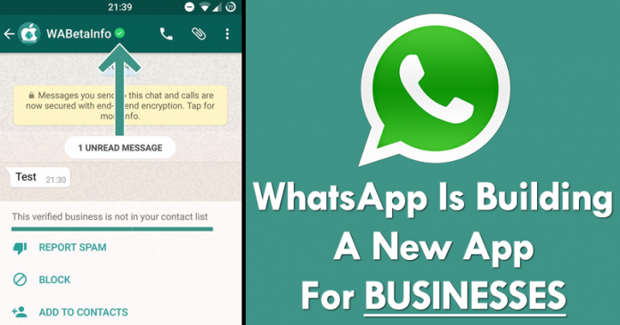 Whatsapp Is Building A New Application For Businesses Fubarea