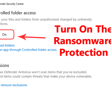 Windows 10 Will Hide Your Important Files From Ransomware