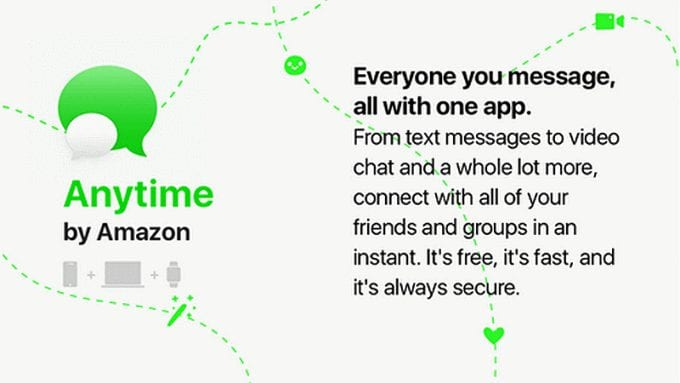 amazon anytime chat app - Amazon Secretly Developing A New Messaging App Called Anytime