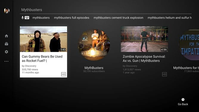 nexus2cee screenshot search3 thumb - YouTube On Android TV Gets Updated With New Design, Auto-Play Controls
