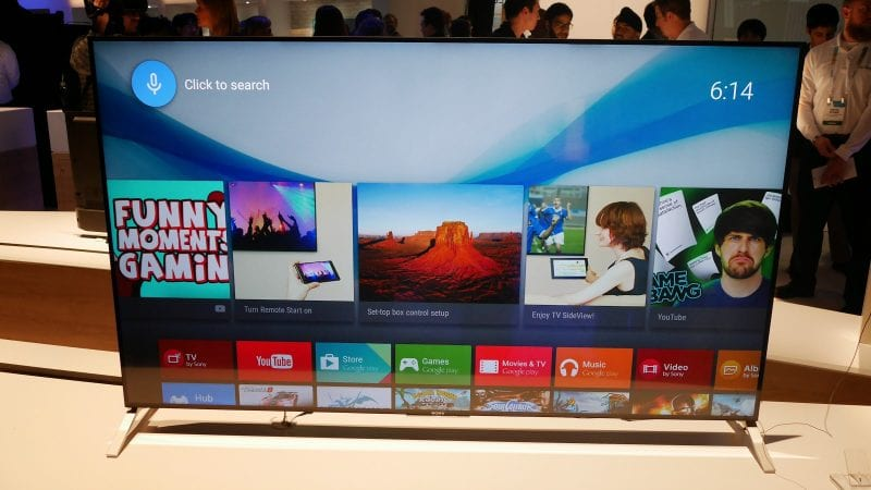sony bravia tv 2015 1 - Alexa Voice Commands Now Working With Sony Android Smart Tv's