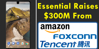 Andy Rubin's Essential Raises $300M From Amazon, Foxconn, Tencent