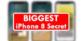 Apple Leak 'Confirms' Biggest iPhone 8 Secret
