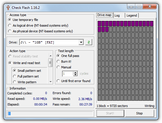 Check The Speed Of Your USB Flash Drive