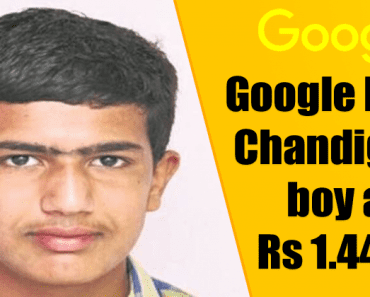 Google Hires 16-Year-Old Chandigarh Boy With Monthly Salary Of Rs 12 Lakh