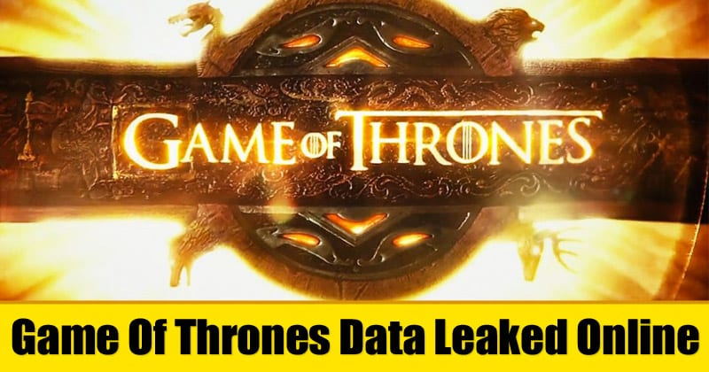 HBO Hacked: Game Of Thrones Data Leaked Online