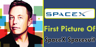 Here Is The First Picture Of SpaceX Spacesuit