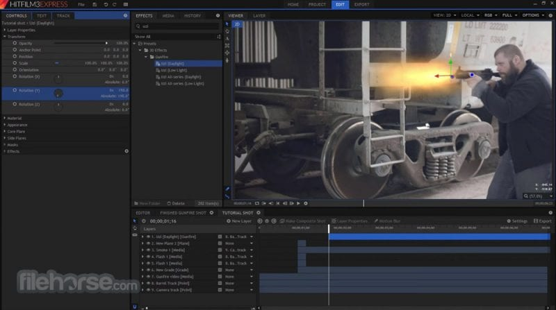 Top 20 best video editing tools for windows 2018 hitfilm express ccuart Images