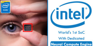 Intel Unveils World's 1st SoC With Dedicated Neural Compute Engine