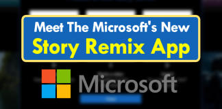 Meet The Microsoft's New Story Remix Application