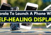 Motorola To Launch A Phone With A Self-Healing Display