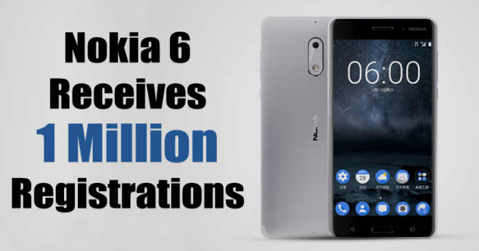 Nokia 6 Receives 1 Million Registrations Ahead Of August 23 Sale On Amazon