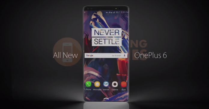 OnePlus 6 Design Concept Sports Glowing Back Logo