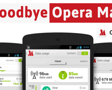 Say GoodBye To Opera Max For Android!