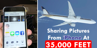 Video: Pilot Sending Image From iPhone To Second Plane At 35,000 Feet