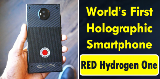 RED Hydrogen One Holographic Smartphone Revealed In MKBHD Video