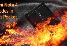 Xiaomi Redmi Note 4 Explodes In User's Pocket