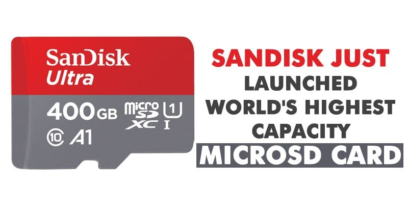 SanDisk Just Launched The World's Highest-Capacity microSD Card