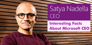 5 Interesting Facts About Microsoft CEO Satya Nadella