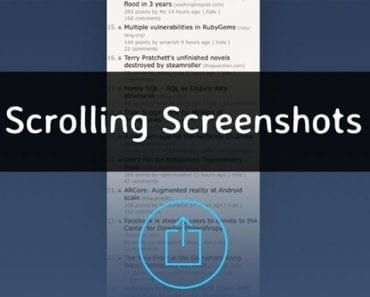 How to Take Long Scrolling Screenshot on Any Android
