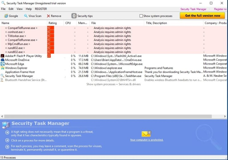 Security Task Manager - 10 Powerful Alternatives To The Windows Task Manager