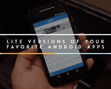 These 5 'Lite' Apps Will Save Your Mobile Data