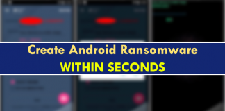 This Mobile App Allows Anyone To Create Android Ransomware
