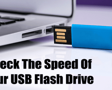 5 Free Tools To Check The Speed Of Your USB Flash Drive In Windows