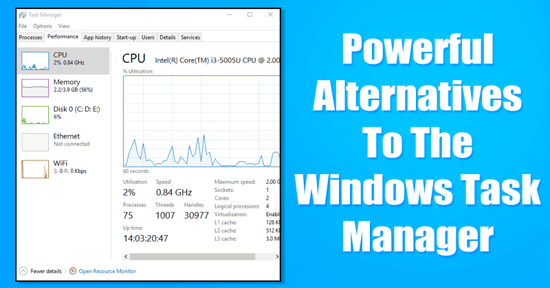 10 Powerful Alternatives To The Windows Task Manager