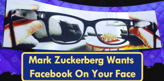 Zuck Wants Facebook On Your Face: Patent Shows A Glasses Design
