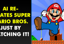 AI Re-Creates Super Mario Bros. Game Just By Watching It