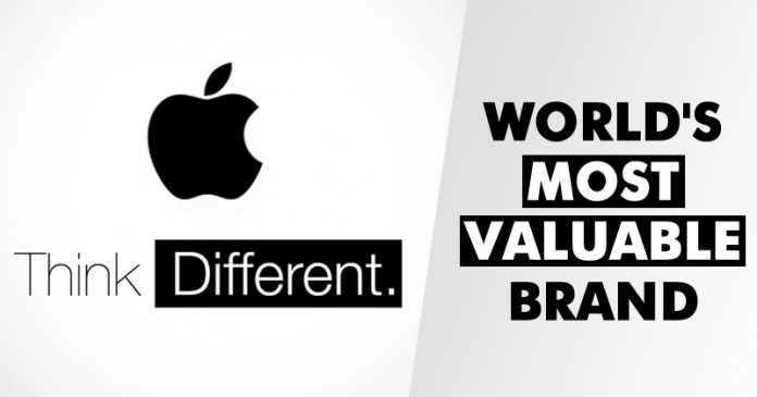 Apple Named World's Most Valuable Brand