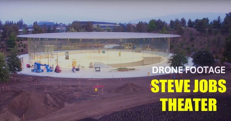iPhone 8: Apple Park Drone Video Shows Steve Jobs Theater