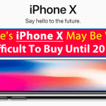 Apple's iPhone X May Be Very Difficult To Buy Until 2019