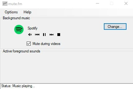 Automatically Pause your Music When Other Sounds Start to Play