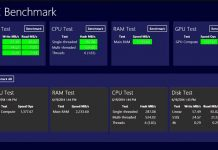 Benchmark Your Windows 10 PC