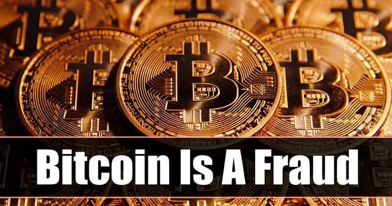 Beware! Bitcoin Is A Fraud, Says JPMorgan CEO