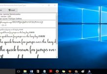 Change Default Fonts In Windows 10