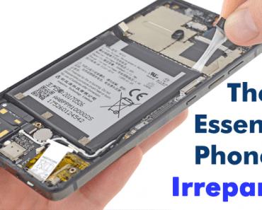 Essential Phone Teardown: The Essential Phone Is Irreparable