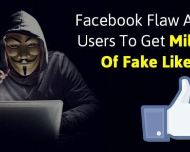 This Facebook Flaw Allows Users To Get Millions Of Fake Likes