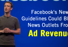 These New Facebook Guidelines Could Block News Outlets From Ad Revenue